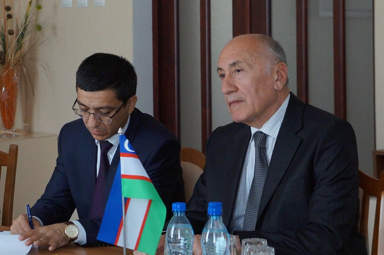 Meeting with Ambassador Extraordinary and Plenipotentiary of Uzbekistan