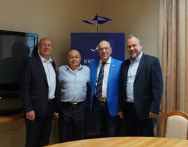 "THE VISIT OF THE DELEGATION FROM ISRAEL TO THE ADMINISTRATION OF THE FEZ ""BREST"""